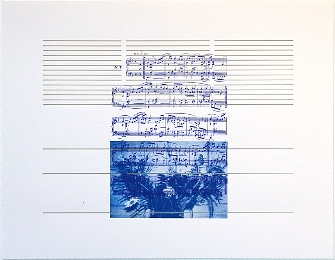 white with music sheet